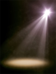 Personal transformation can require you to step into your own spotlight