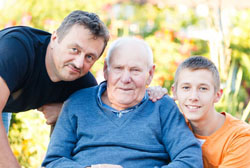 The challenge of caring for aging parents